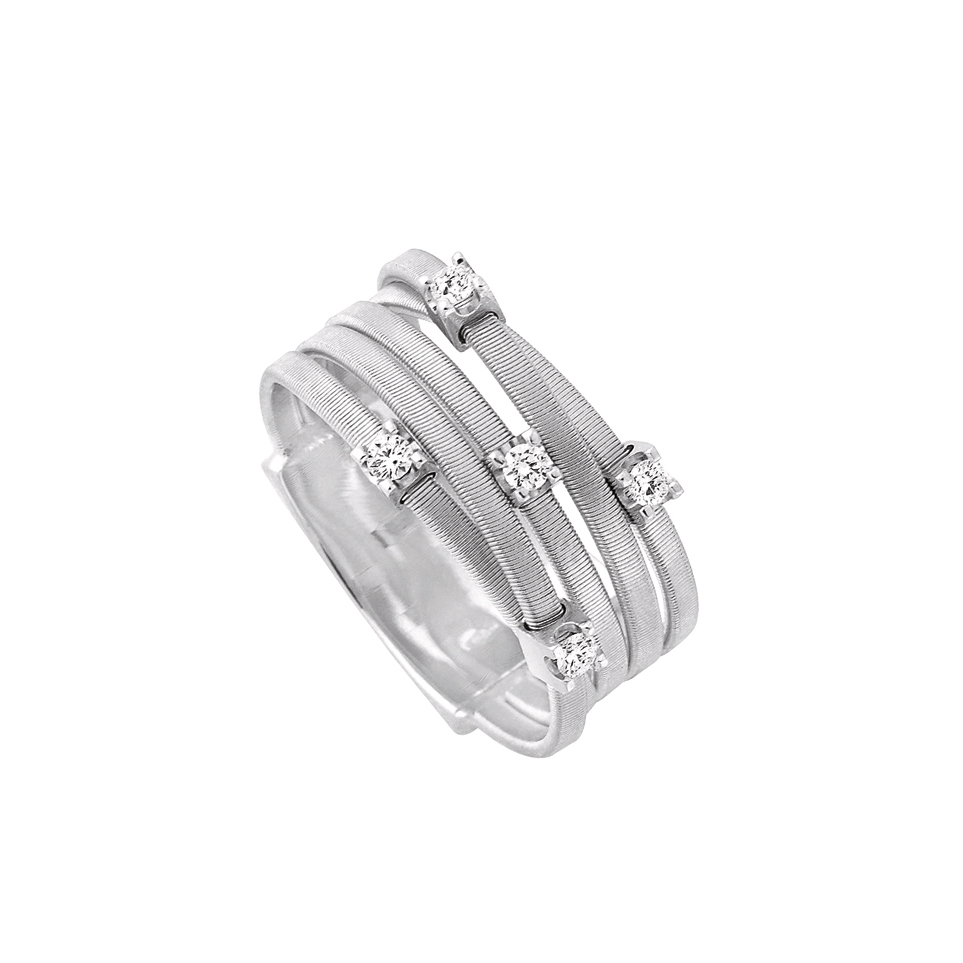 Marco Bicego Goa Five Diamond Ring