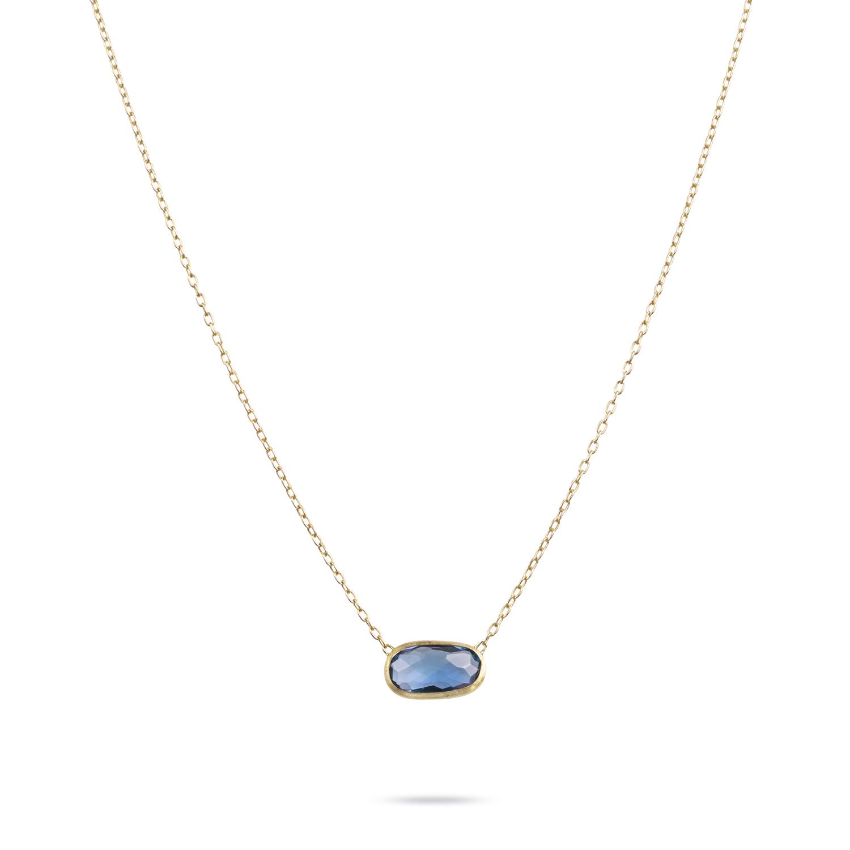 Marco Bicego Delicati London Blue Topaz Necklace