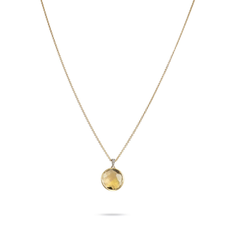 Marco Bicego Delicati Quartz & Diamond Necklace