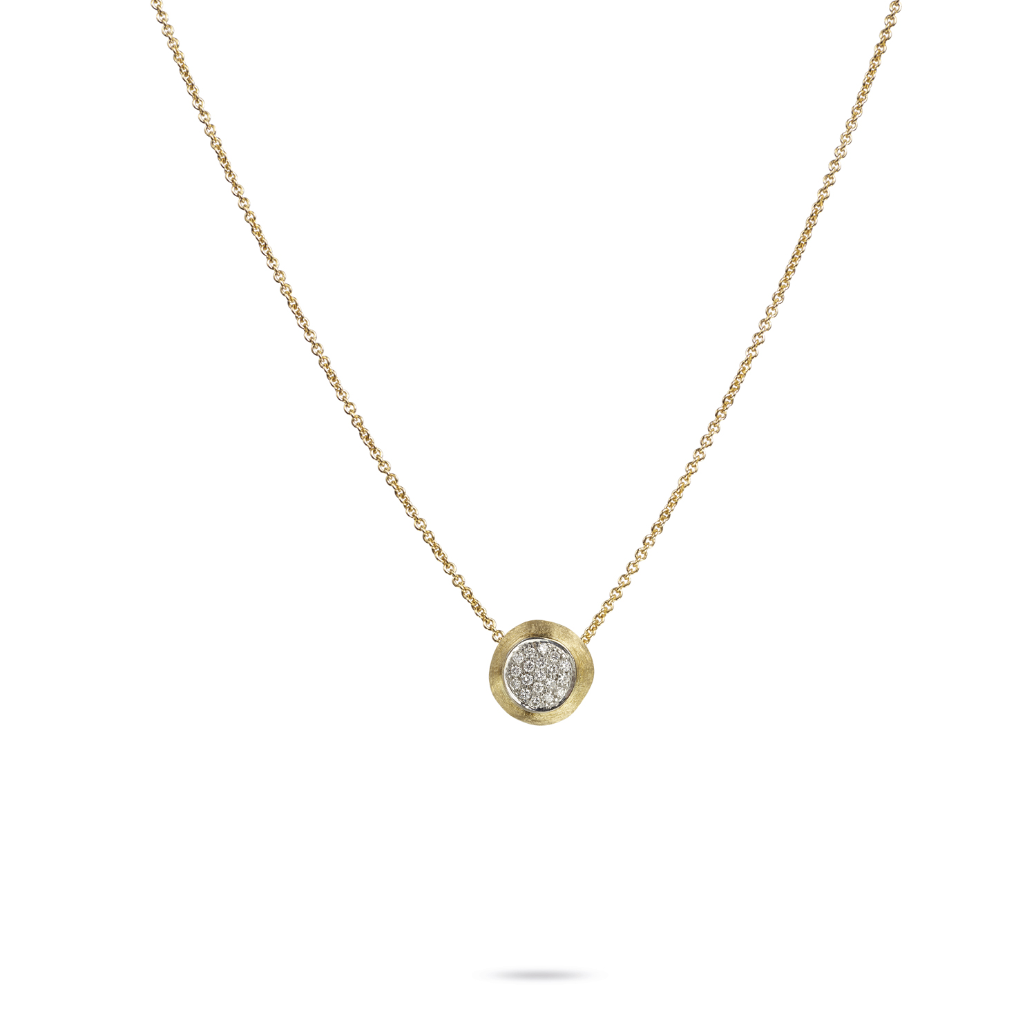 Marco Bicego Delicati Gold & Diamond Necklace