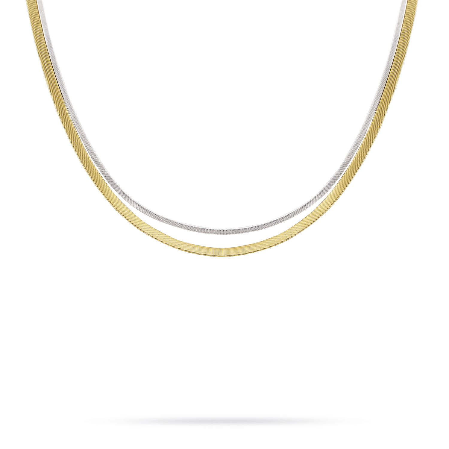 Marco Bicego Masai Yellow & White Gold Necklace