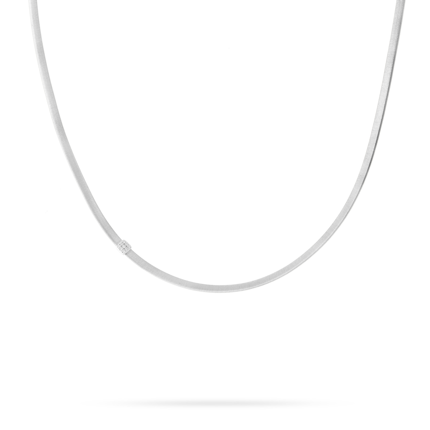 Marco Bicego Masai Single Strand Diamond Necklace