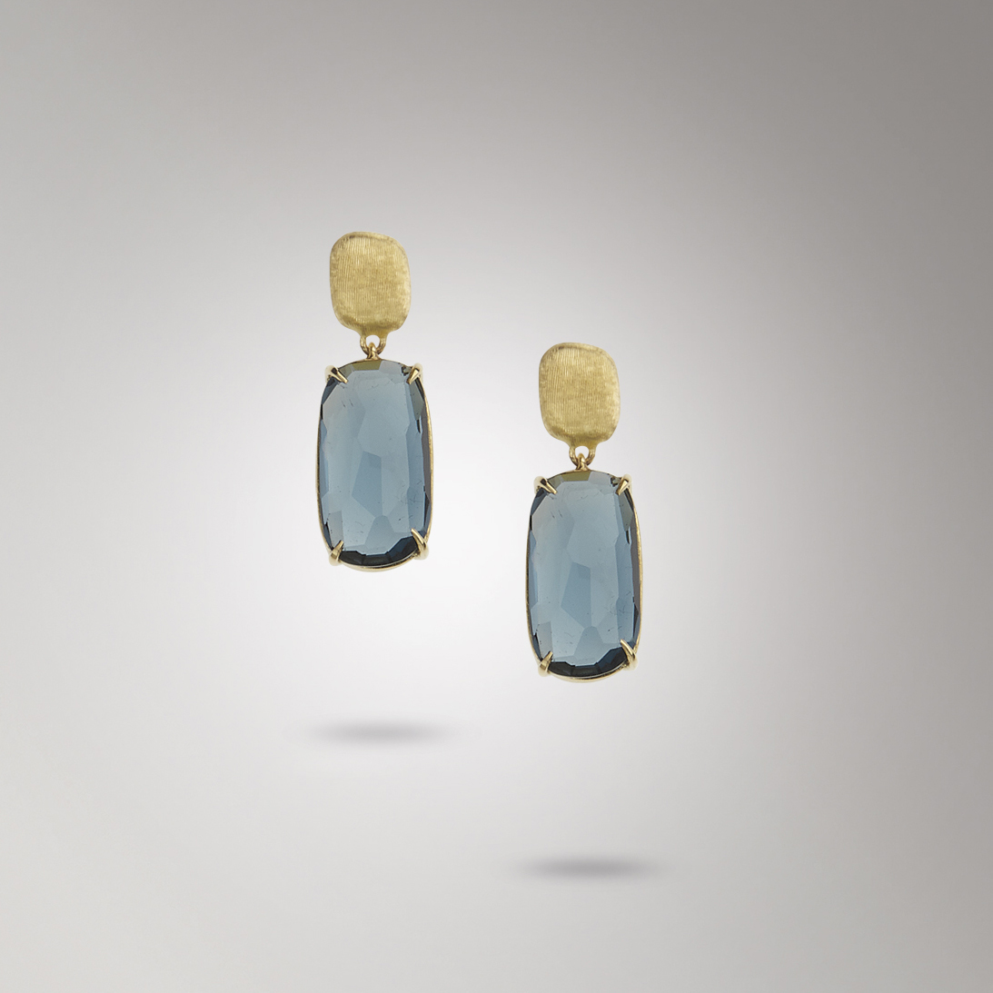 Marco Bicego Murano London Blue Topaz Earrings