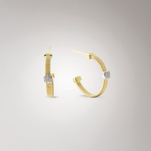 Marco Bicego Masai Gold & Diamond Hoops