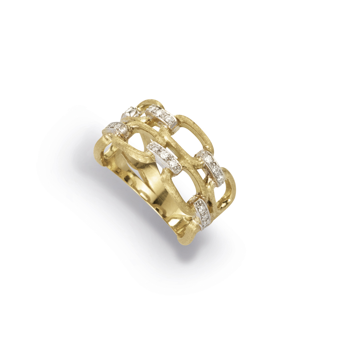 Marco Bicego Murano Link Double Band Ring