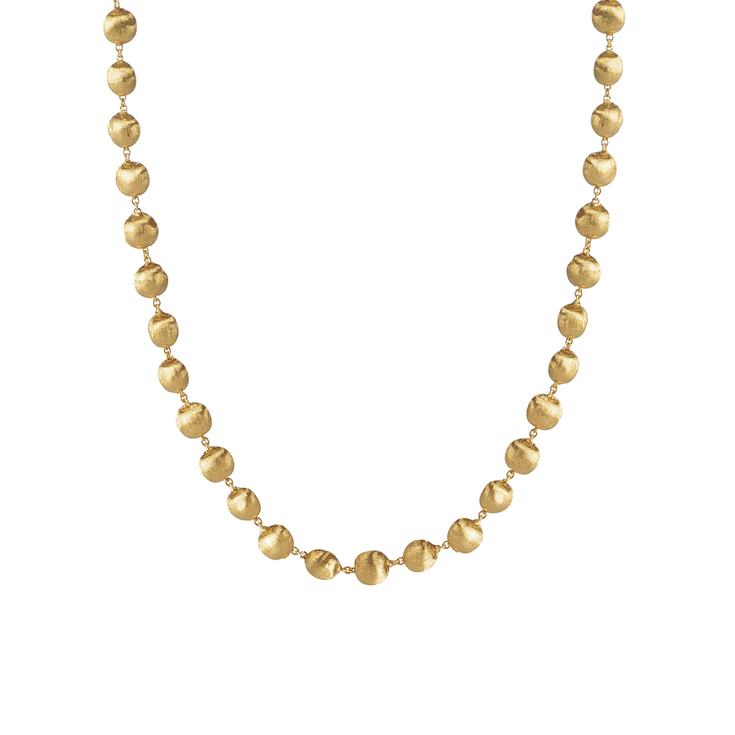 Marco Bicego Africa Small Gold Boules Necklace