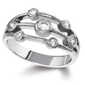 Williamson Brown Platinum & 0.8ct Diamond Lifestyle Ring