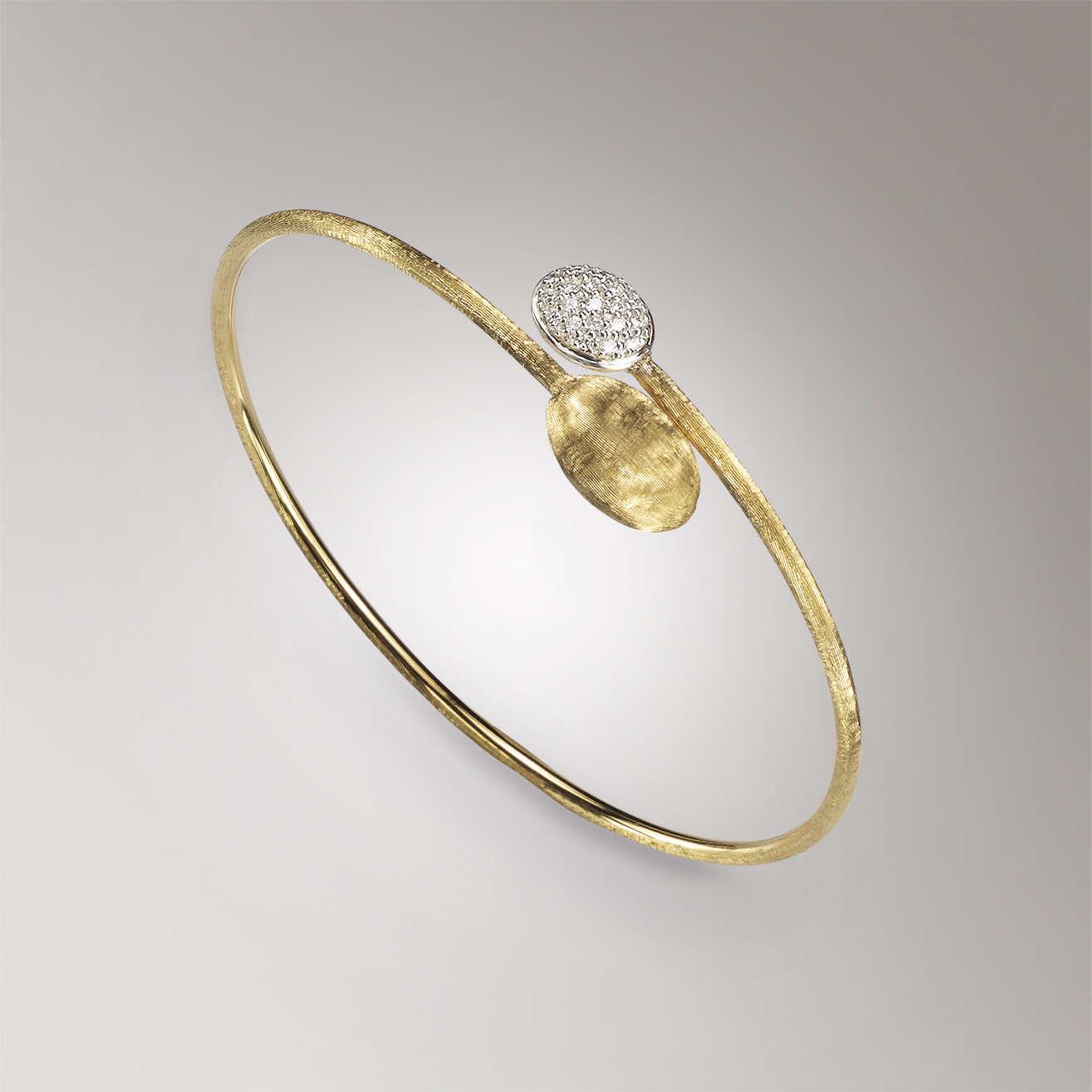 Marco Bicego Siviglia Gold & Diamond Bangle
