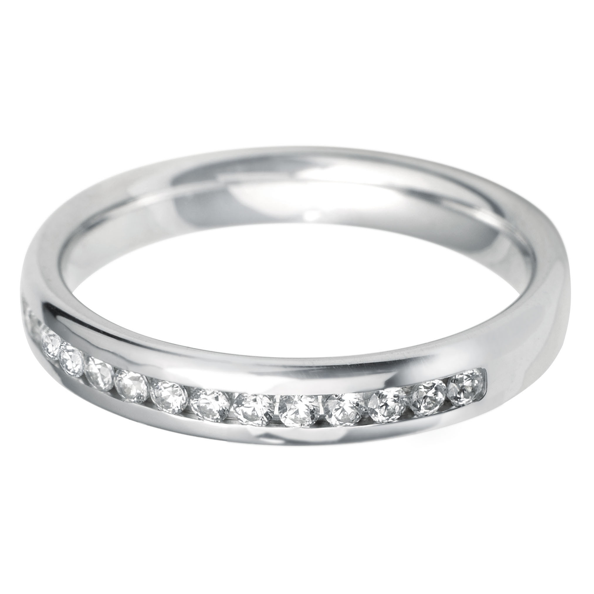 Williamson Brown 0.24ct Diamond & White Gold Eternity Ring