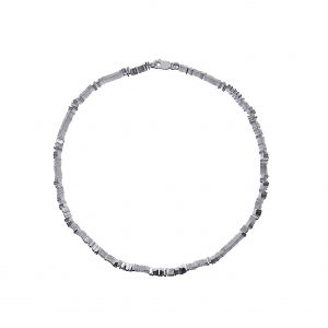 Tezer Black Rhodium-Plated Fine Bracelet
