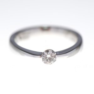 Rivoir Diamond And White Gold Engagement Ring