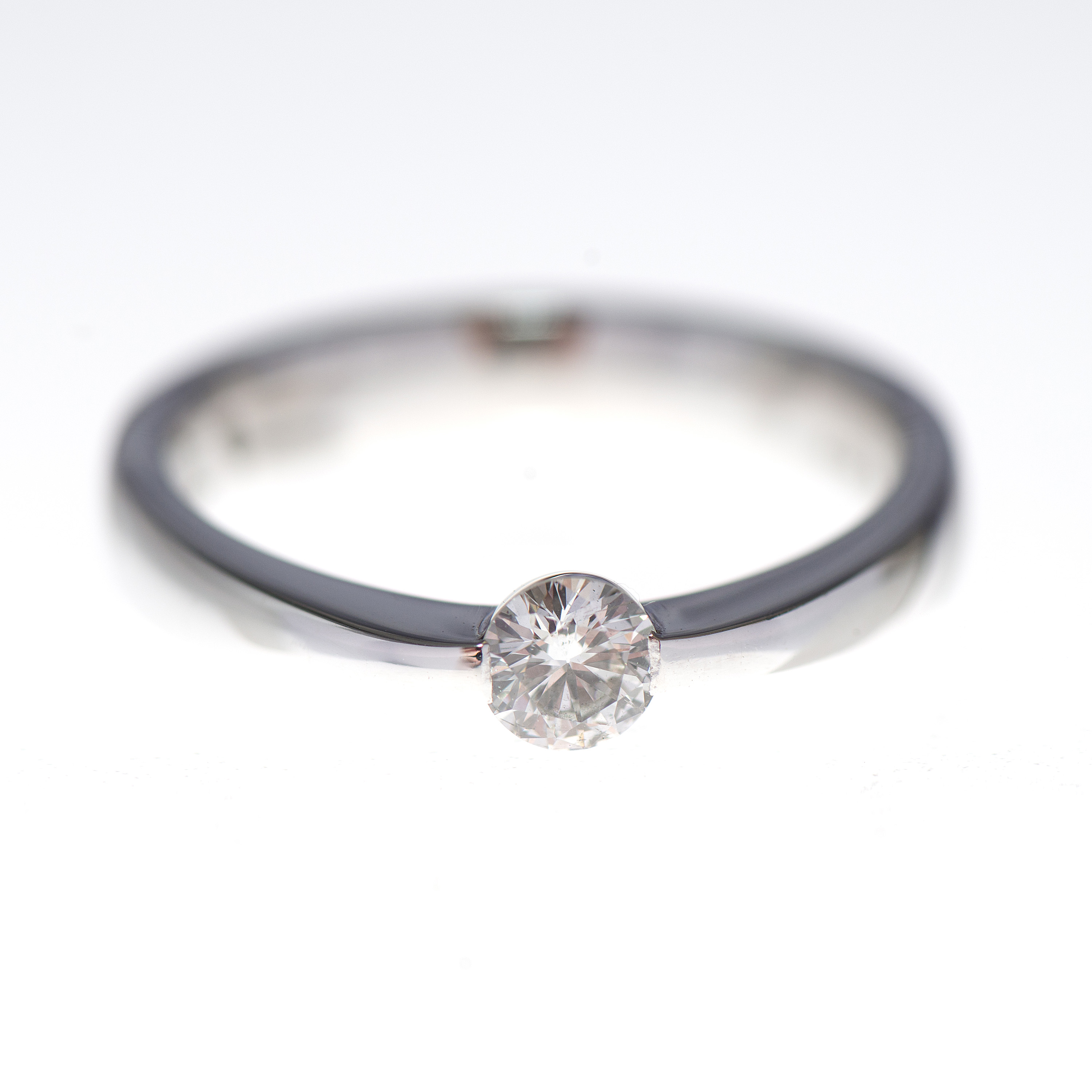rivoir diamond and white gold engagement ring | williamson brown