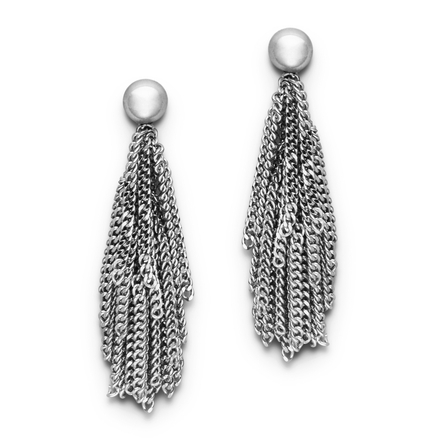 Claudia Milić Silver Siara Earrings