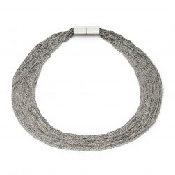 Claudia Milić Heavy Silver Shine Necklace