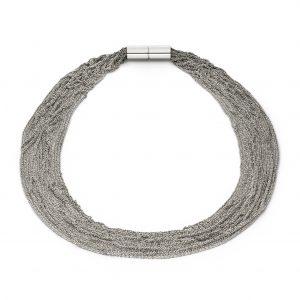 Claudia Milić Heavy Silver Shine Necklace