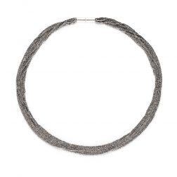Claudia Milić Small Silver Shine Necklace