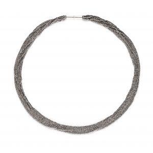 Claudia Milić Small Silver Shine Necklace