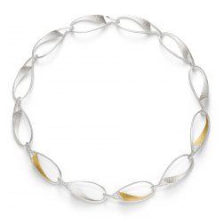 Manu Curved Link Necklace