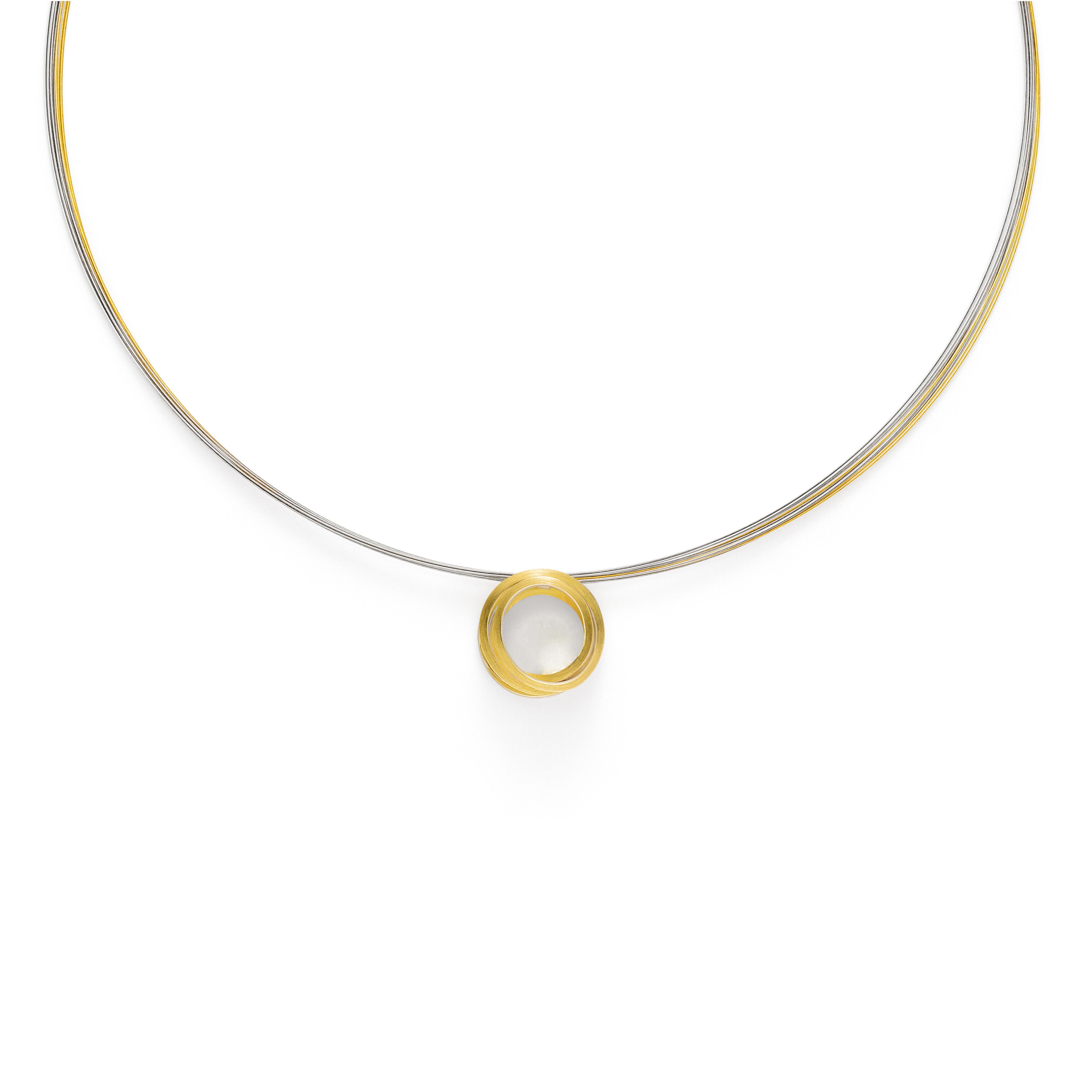 Manu Gold Layered Loop Necklace