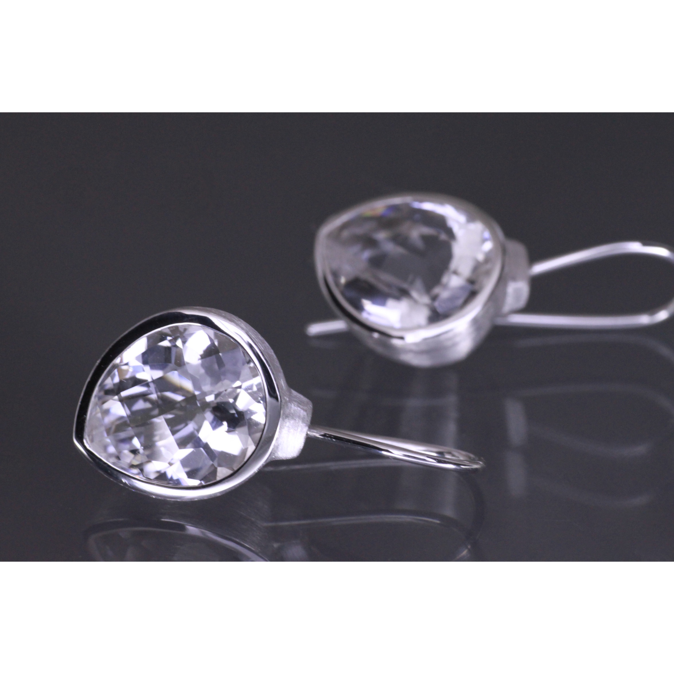 Lindenau Rock Crystal Earrings