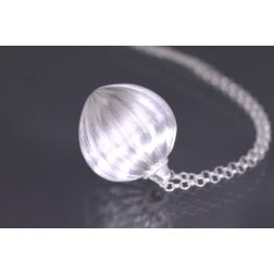 Lindenau Silver Acorn Necklace