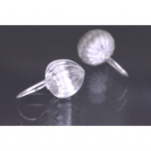 Lindenau Silver Acorn Earrings