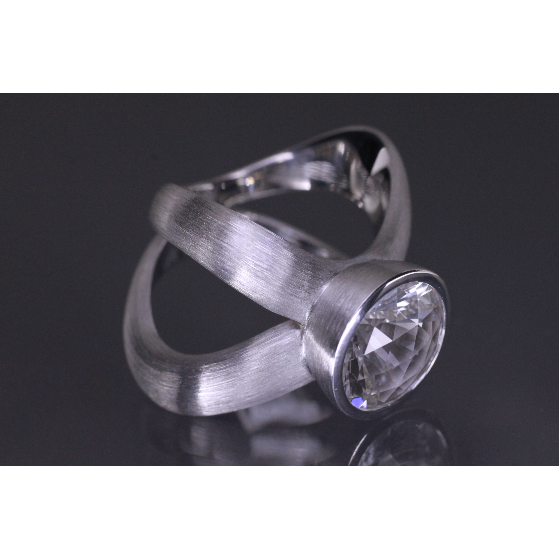 Lindenau Rock Crystal Ring