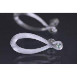 Lindenau Sky Blue Topaz Infinity Earrings