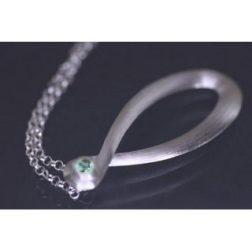 Lindenau Sky Blue Topaz Infinity Necklace