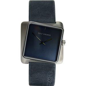 Rolf Cremer Blue-Grey Twist Watch