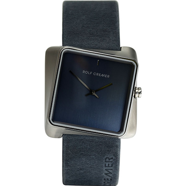 Rolf Cremer Blue-Grey Twist Watch