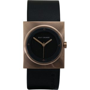 Rolf Cremer Black And Rose Spot Watch