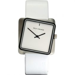 Rolf Cremer White Twist Watch