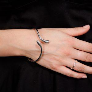 Lucy Q Snake Drip Bangle