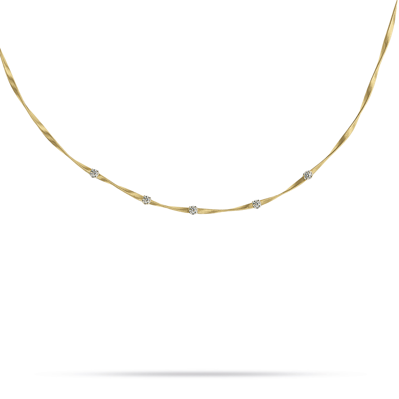 Marco Bicego Marrakech 5-Stone Necklace