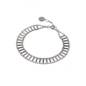 Cara Tonkin Silver Theda Pharon Skinny Bracelet