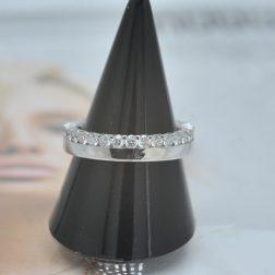 Furrer Jacot 18ct White Gold Full Diamond Eternity Ring 1.05ct (tw) GVS